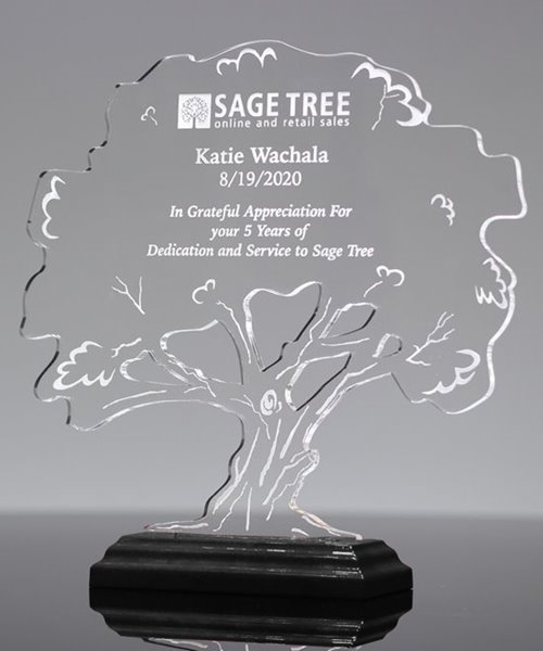 Picture of Tree of Life Acrylic Award