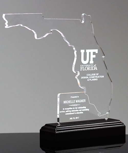 Picture of State of Florida Acrylic Award