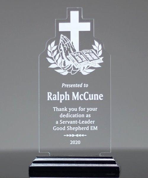 Picture of Religious Theme Acrylic Award
