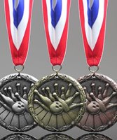 Picture of Classic Bowling Medal