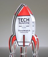 Picture of Rocket Award Paperweight