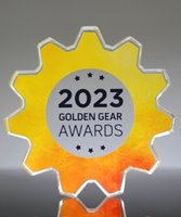 Picture of Gear Award Paperweight