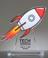 Picture of Acrylic Rocket Award