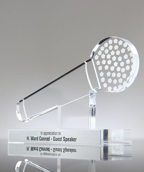 Picture of Acrylic Microphone Trophy