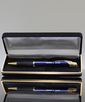 Picture of Custom Engraved Pen In Velvet Case