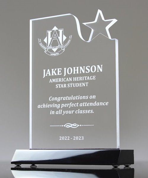 Picture of Acrylic Small-Star Award