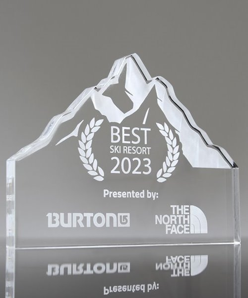 Picture of Acrylic Mountain Trophy