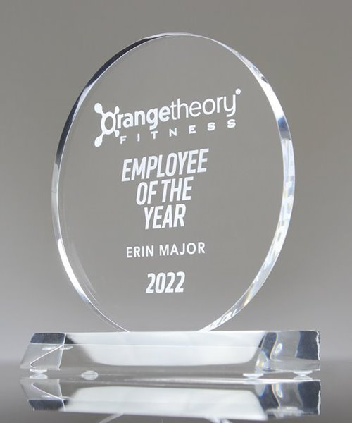 Picture of Clear Acrylic Circle Trophy