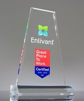 Picture of Clear Acrylic Prism Trophy