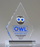 Picture of Clear Acrylic Diamond Trophy