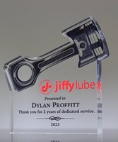 Picture of Acrylic Piston Award