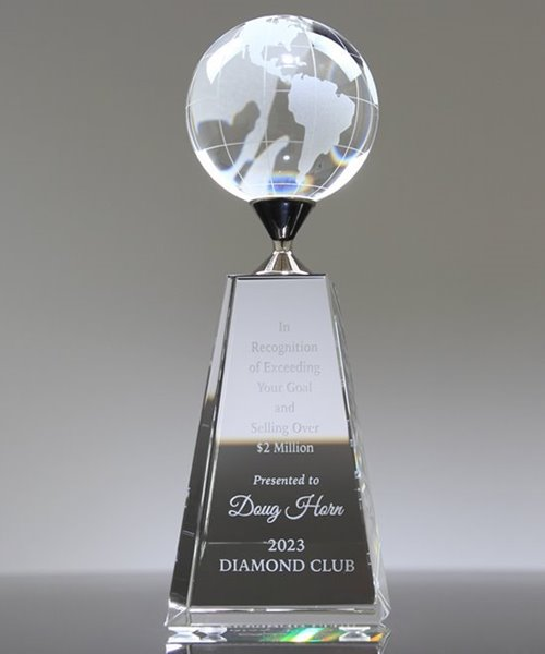 Picture of Divinity Crystal Globe Award