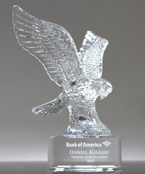 Picture of Royal Crystal Eagle Award