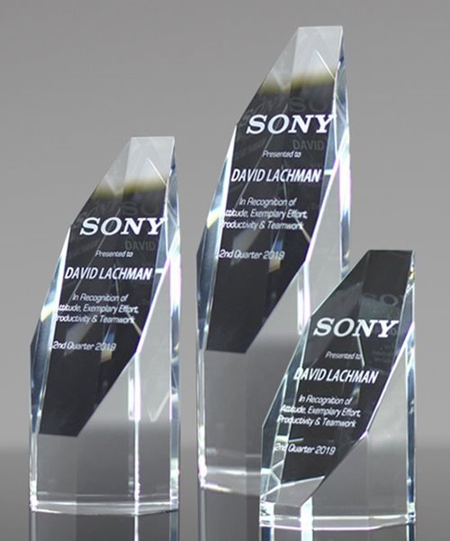 Picture of Crystal Octagon Awards