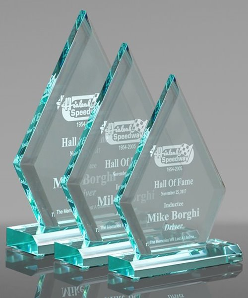 Picture of Jade Diamond Acrylic Award