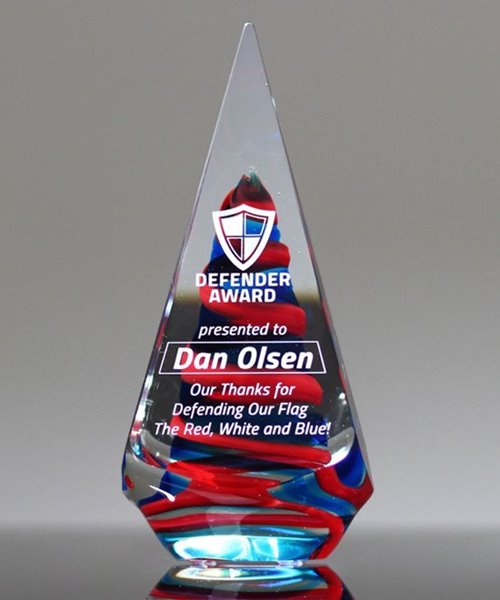 Picture of Patriot Art Glass Award