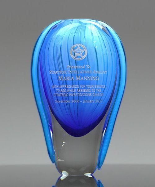 Picture of Azure Fontana Vase