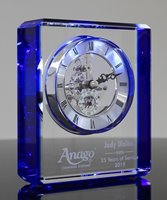 Picture of Sapphire Crystal Clock