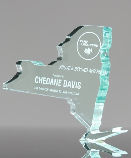 Picture of New York State Paperweight Acrylic Trophy