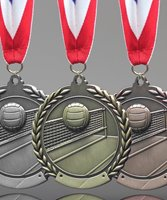 Picture of Traditional Volleyball Medal