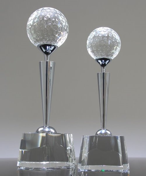 Picture of Chrome Beacon Golf Trophy