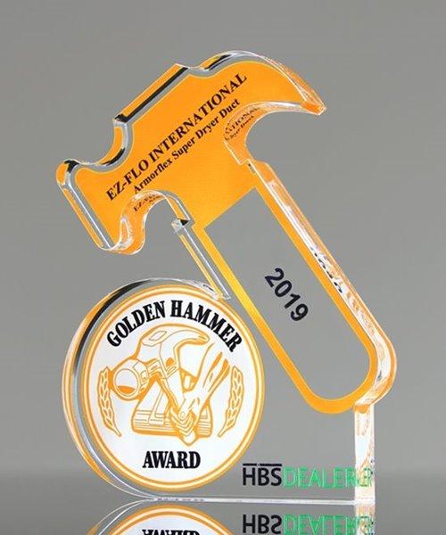 Picture of Custom Acrylic Hammer Awards