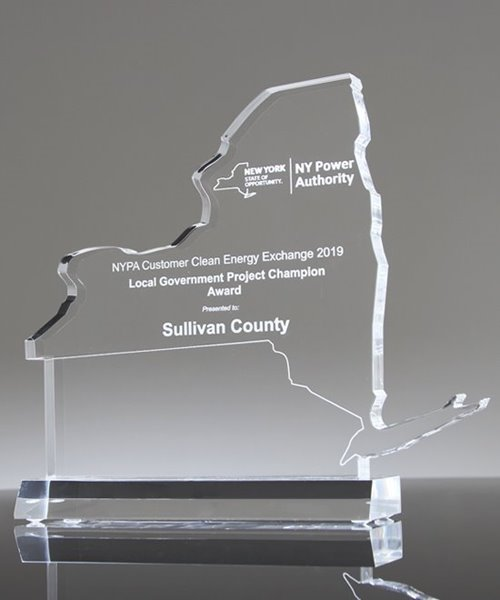 Picture of Custom State of New York Award