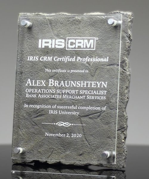 Picture of Art-Stone Recognition Plaque