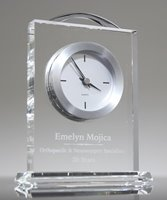 Picture of Eternity Crystal Desk Clock