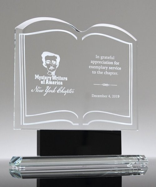 Picture of Clear Glass Book Award