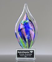 Picture of Flora Art Glass Award