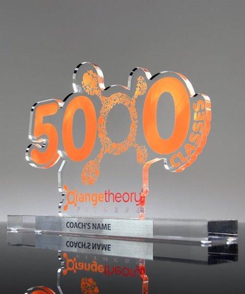 Picture of Orangetheory Milestone Awards