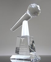 Picture of Key Speaker Crystal Microphone Award