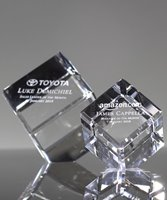 Picture of Economy Cube Crystal Awards
