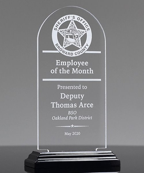 Picture of Acrylic Arch Award