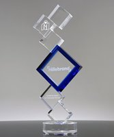 Picture of Building Blocks Crystal Trophy