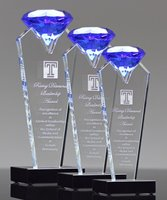 Picture of Blue Diamond Crystal Award