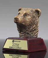 Picture of Bear Mascot Trophy