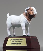 Picture of Goat Mascot Trophy