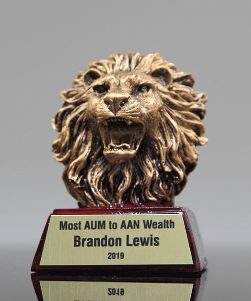 Picture of Lion Mascot Trophy