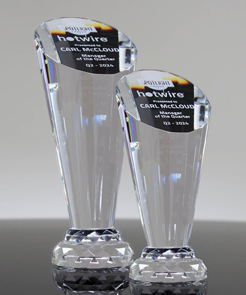 Picture of Employee Spotlight Crystal Trophy