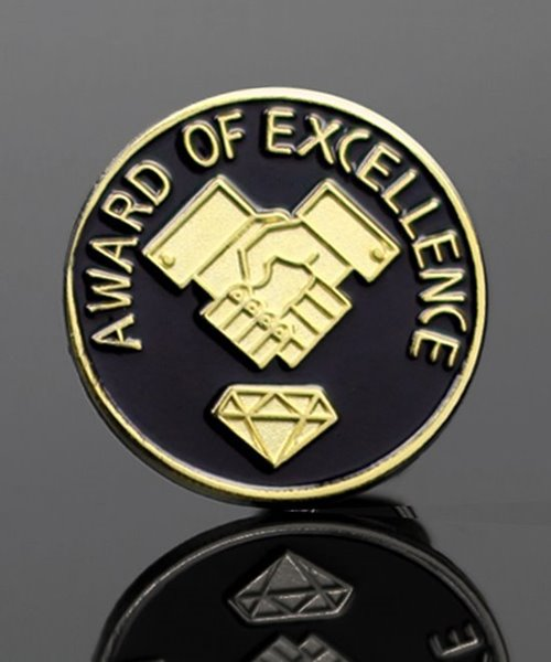 Picture of Award of Excellence Lapel Pin