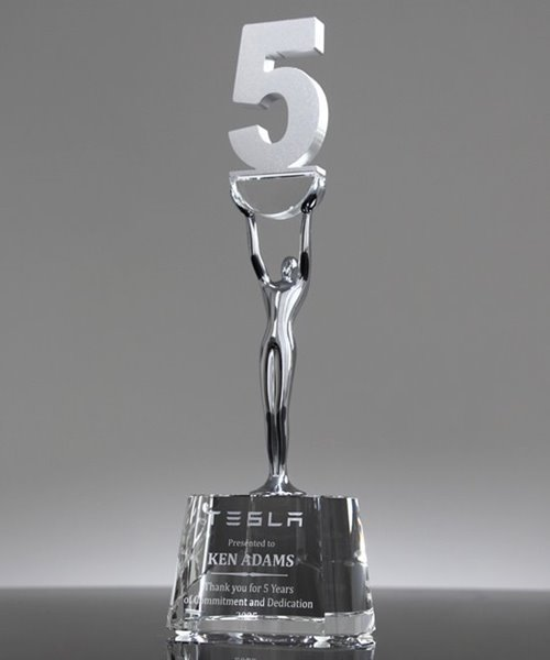 Picture of Service 5 Year Award