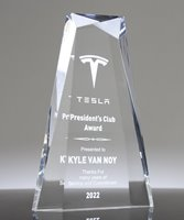 Picture of Beveled Jewel Acrylic Award