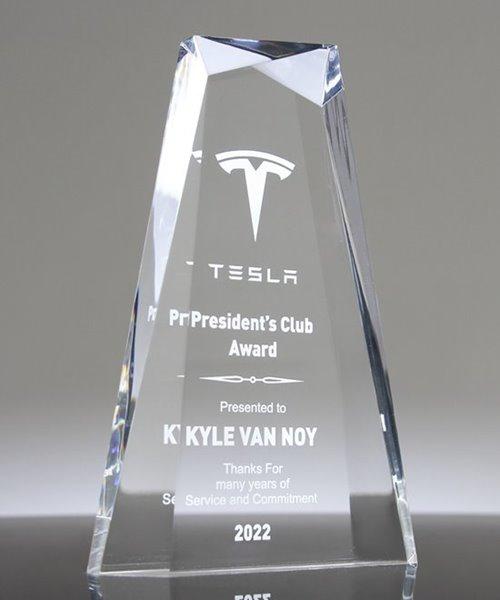 Picture of Beveled Jewel Acrylic Award