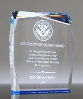 Picture of Azure Gem Acrylic Award
