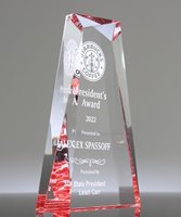 Picture of Cardinal Jewel Acrylic Award