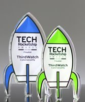 Picture of Custom Acrylic Rocket Awards