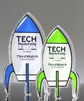 Picture of Custom Acrylic Rocket Awards