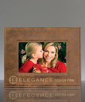 Picture of Rustic Leatherette Photo Frame